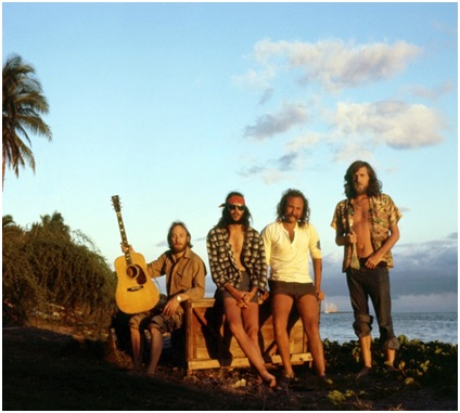 Crosby, Stills, Nash & Young, Hawaii, photograph by Graham Nash