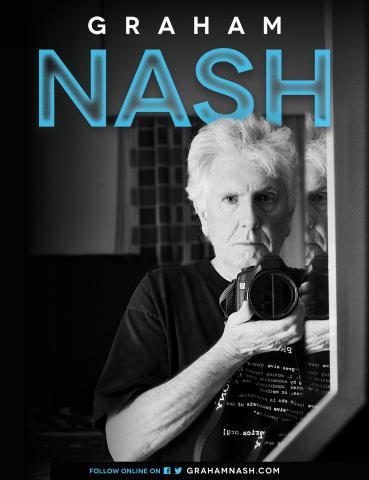 Graham Nash Announces Solo Tour Dates for Summer 2015