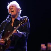 Graham Nash performs at Musikfest Cafe in Bethlehem on September 28. (© Brian Hineline / SPECIAL TO THE MORNING CALL)