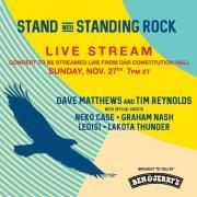 Standing Rock Concert Strem